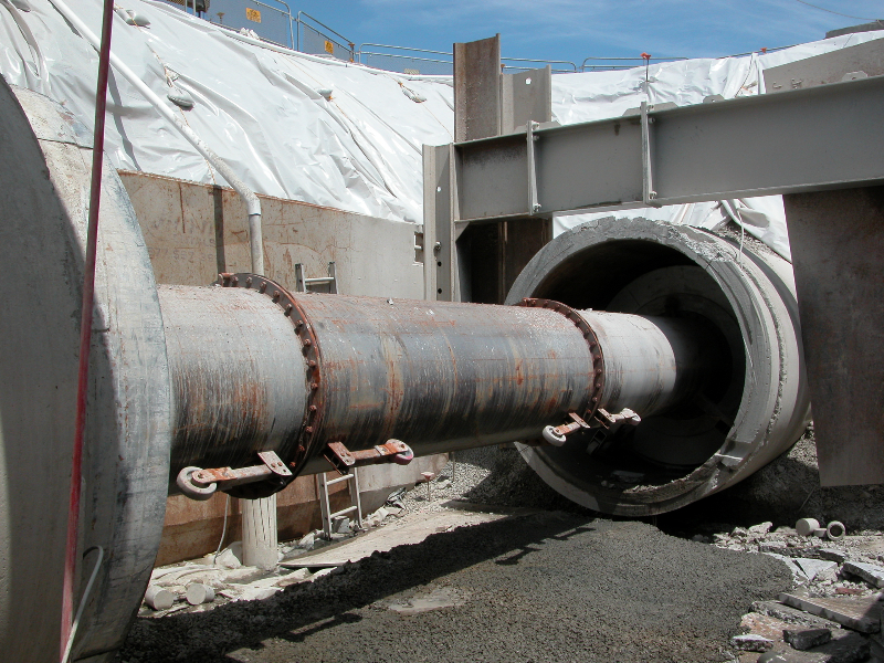 84-inch-pipe-section-20-demolished-for-wye-connection